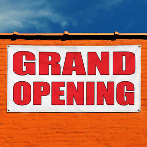 Vinyl Banner Sign Grand Opening Auto Shop Car Repair Style U Business White