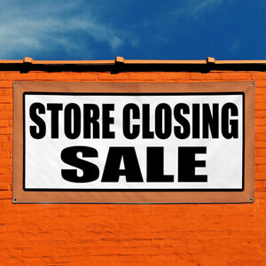 Vinyl Banner Sign Store Closing Sale Promotion Business Marketing Advertising