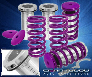 94 97 98 01 Acura Integra Dc2 Ls Rs Scale Adjustable Coilover Sleeves Kit Purple