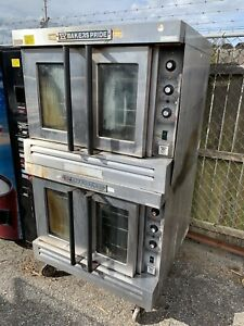 Bakers Pride Double Deck Full Size Gas Convection Oven