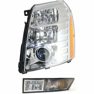 Auto Light Kit New Left Hand Driver Side Lh For Cadillac Escalade Esv Ext 09 13