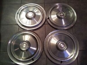 14 Chrysler Hubcaps 4 1970s 1980 Plymouth Volare