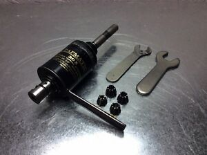 Tapmatic 3ox Tapping Head 1 2 Straight Shank W 4 Collets 2 Wrenches