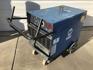 Miller Dimension 652 Welding Power Source Cc cv Dc 650 Amp 3ph Mig Tig Stick