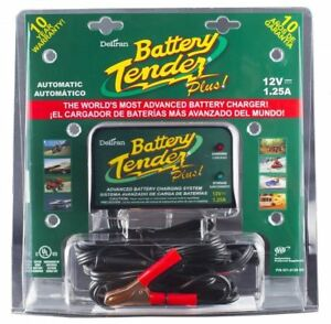 Deltran 12v Battery Tender Plus 1 25a Battery Charger 021 0128 Boat Lawn Tractor