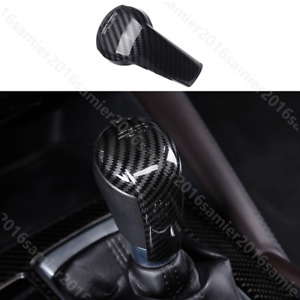 For Mazda3 Mazda6 Cx5 Cx3 Cx8 Cx9 Cx 5 Carbon Fiber Color Gear Shift Knob Cover