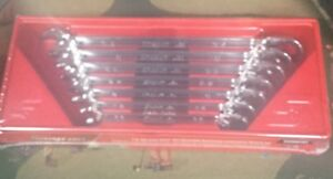 New Snap On 7pc Flank Drive Plus Reversible Ratcheting Wrench Set Soxrr707