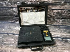 Cps Cc220 Compute a charge Refrigerant Scale Used Pps 804 1