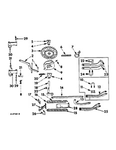 471391r1 Bearing Bracket For Mccormick International 449a 450a Planters