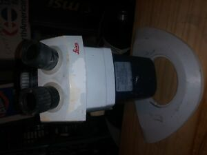 Leica Gz7 Stereo Zoom Microscope For Parts