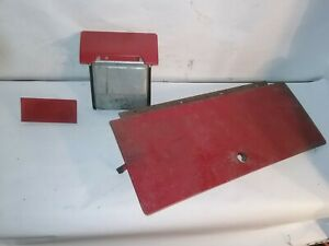 1963 64 Ford Galaxie Clock Delete Plate And Ash Tray Complete Xl 500