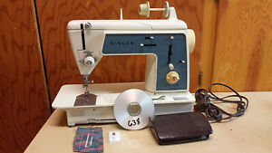 Singer Touch N Sew 638 Sewing Machine Heavy Duty Leather Upholstery Denim Servic