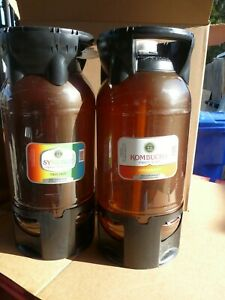 20 Litres Sankey Valve Plastic Keg Beer Kombucha Tea Coffee By Petainer 2 Each