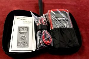Snap on Auto range Digital Multimeter eedm50ad Free Shipping