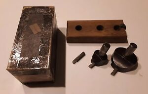 Enco 225 3040 Fly Tool Holder Boring Facing Heads Milling Machine Machinist