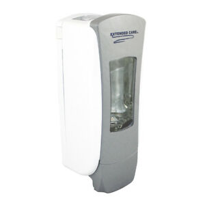 Qty 6 Extended Care Gray Wall Mount Commercial Soap Dispenser 700ml Capacity