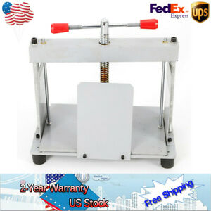 New A4 Manual Flat Paper Press Nipping Machine Bindery For Bills invoices checks