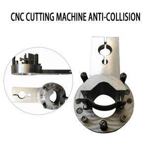 Silver Anti collision Flame plasma Torch Clamp Holder For Cnc Cutting Machine
