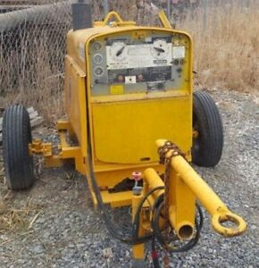Lincoln Sa 250 Diesel Welder With Trailer