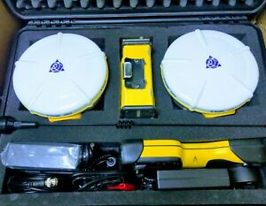 Complete Rtk Set Of Trimble 5800 Base Rover Tsc2 Controller And Hpb450 Radio