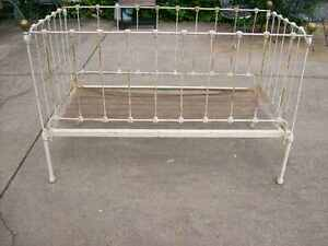 Antique Victorian Iron Bed