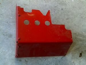 Farmall 460 Utility Tractor Ih Ihc Hydraulic Valve Assembly Cover Panel