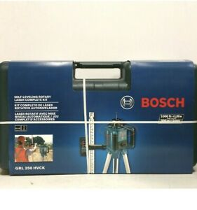 Bosch Grl300hvck Self leveling Rotary Laser Complete Kit 1000