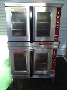 Blodgett Double Mark V Electric Bakery Commercial Oven Bakery Pizza