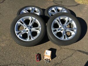 20 Ford Explorer Oem Wheels Alloy Rims And Tires 2011 2015 3860 Tpms Installed