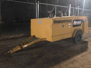 2010 Allmand Mh1000 Tow Behind Indirect Fired Construction Heater W Generator