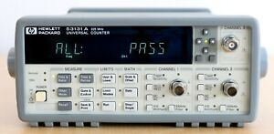 Hp Agilent 53131a 225 Mhz Universal Frequency Counter timer W Option 030