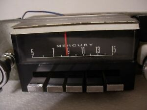 67 1967 Mercury Cougar Radio Good Working Warranty