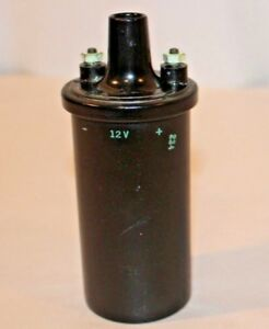 Vintage Universal 12 Volt Ignition Coil