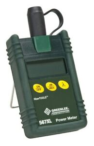 Greenlee 567xl Silicon Fiber Optic Power Meter