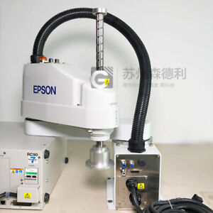 Used Epson Scara Robot 600mm Max 6kg Ls6 602s w Rc90 Controller