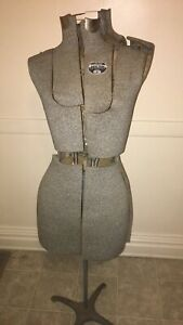 Vintage Acme Adjustable Dress Form Size A