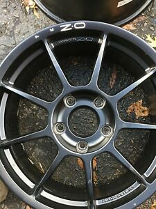 Set Of 4 18 Oz Challenge Visivo Hlt Rims Porsche 996 Turbo Standard Brakes