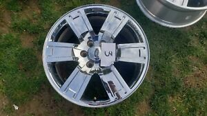 Ford Expedition 20 Chrome Clad Wheel Oem Factory 2007 2011