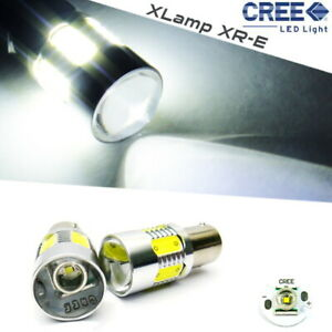 2x Cree Xr E Led 1156 P21w For 09 11 Saab 9 3x Projector Front Turn Signal Light