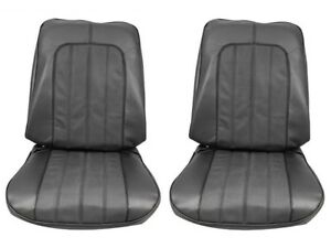 1970 Skylark Gs Black Front Bucket Seat Cover Set By Pui