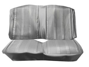 1967 Gto Lemans Coupe Black Rear Bench Seat Covers By Pui