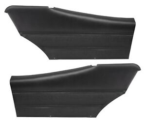 1970 Skylark Custom Gs Coupe Black Rear Door Panels By Pui