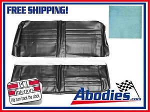 1965 Chevelle Aqua Coupe Rear Bench Seat Covers By Pui