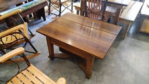 Local Only Nc Nice Vintage European Old Wood Coffee Table Rustic Sturdy