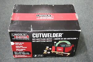 Lincoln Electric Cutwelder Kit Oxy acetylene Outfit Kh995 Look