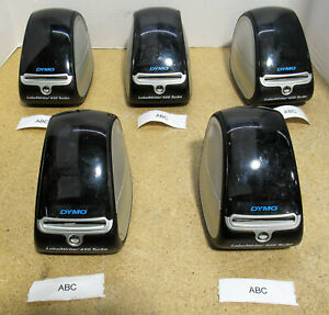 Lot Of 5 Dymo Labelwriter 450 Turbo Thermal Label Barcode Printer Model 1750283