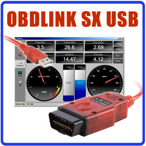 Obdlink Sx 425801 Scantool Usb Professionelles Obd Ii Scan Tool Fr Windows