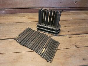 Vintage Lot Transfer Punches Machinist For Punch Set Milling