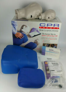 New Cpr Prompt Manikins Adult Infant Set Home Learning Training System Hls 100