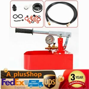 Hand Manual Water Pressure Test Pump Hydraulic Test 1000psi Max Usa Stock